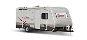 coleman travel trailer
