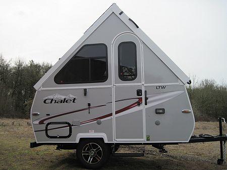 chalet a-frame trailer