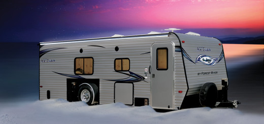 forest river ice fishing trailer