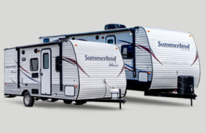 keystone summerland travel trailers